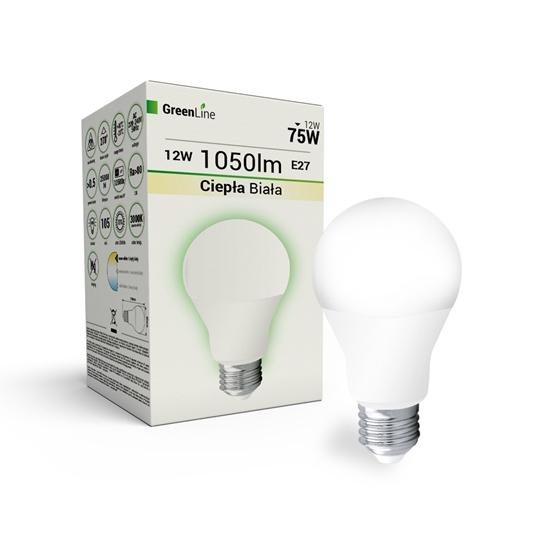 wycofany Lampa  LED E27 10W  A60 3000K Greenline
