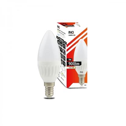 LAMPA  B37  E14 LED PROFI  9 ŚWIECZKA 900lm 3000K CERAMIKA  INQ