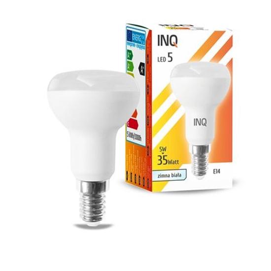 LAMPA LED  R50 E14  5W  6000K  400lm INQ