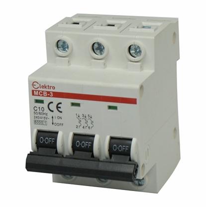 Wyłącznik N-P 3P C 10A