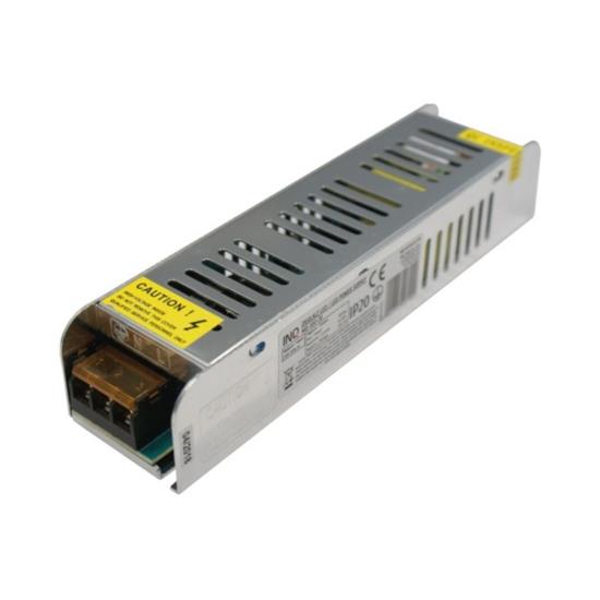 Zasilacz LED modułowy IP20 100W  mini size 8,33A  12V  DC-prąd stały z potencjometrem