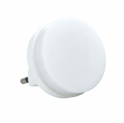 Lampka nocna wtykowa LED 1W 0,2lm okrągła ELEKTRO