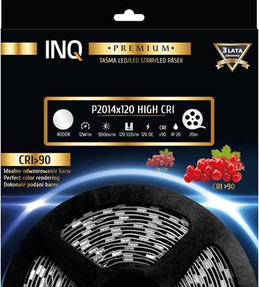 Taśma LED P2014x120 12W 900lm/m 4000K IP20 RA90 20m INQ