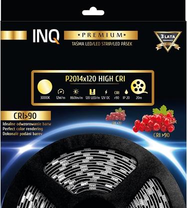 Taśma LED P2014x120 12W 860lm/m 3000K IP20 RA90 20m INQ