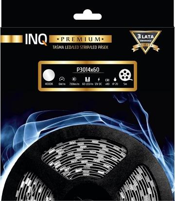 Taśma LED P3014x60 6W 730lm/m 4000K IP20 RA80 5m INQ