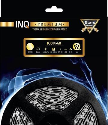Taśma LED P3014x60 6W 640lm/m3000K IP65 RA80 5m INQ
