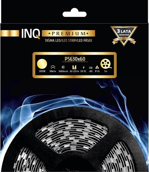 Taśma LED P5630x60 18W 1680lm/m 3000K IP65 RA80 5m INQ