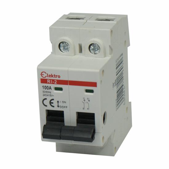 Rozłącznik izolacyjny  2P  100A