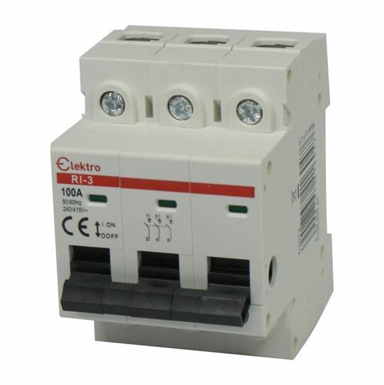 Rozłącznik izolacyjny  3P  100A