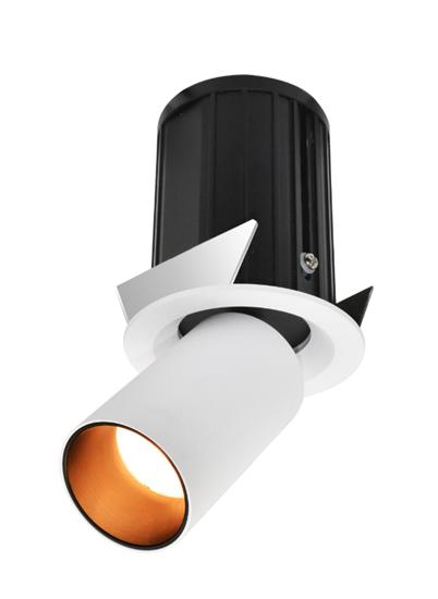 Oprawa Roy3500 podtynkowa biało-czarna