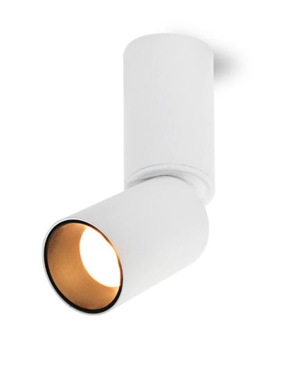 Oprawa Roy3502 natynkowa biało-czarna