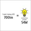 Taśma LED S5050x60 9,6W 700lm/m 3000K IP20 RA80 5m INQ