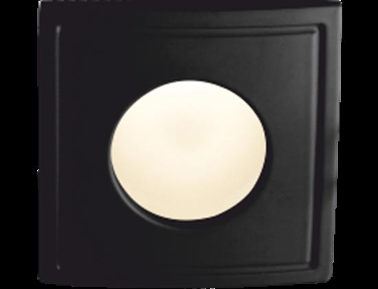 Oprawa OZZO TICO Square 122 SH-B pierścień kwadratowy IP44 czarny