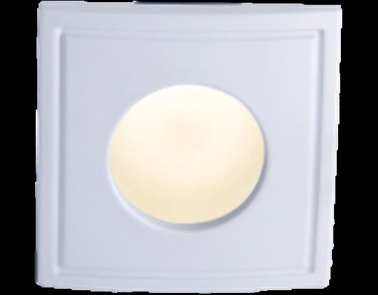 Oprawa OZZO TICO Square 122 SH-WH pierścień kwadratowy IP44 biały