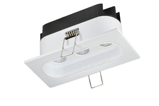 Oprawa Zara3536 podtynkowa biało-biała