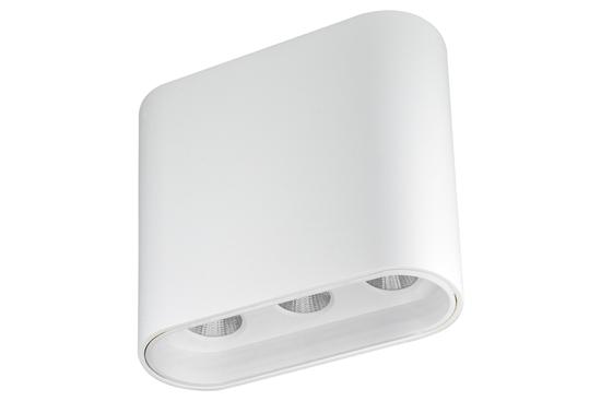 Oprawa Zara3540 natynkowa biało-biała wys.10,4cm