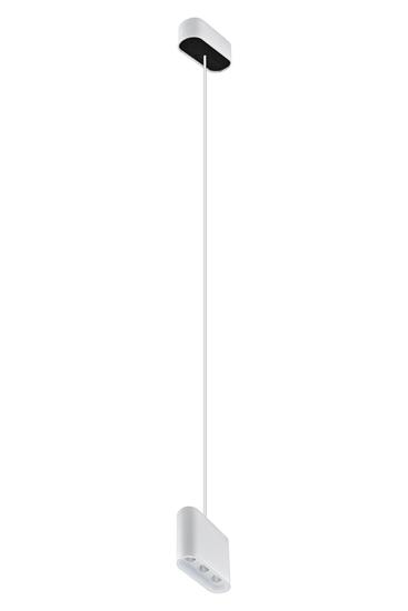 Oprawa Zara3542 wisząca biało-biała