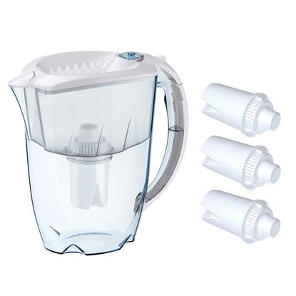Zestaw filtrujący dzbanek aquaphor Ideal  2.8 L 4 filtry B15