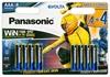 8 x Panasonic Evolta LR03/AAA Power Rangers (blister)