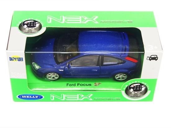 Welly 1:34 Ford Focus ST granatowy