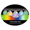 Lampka LED MAGIC NIGHT ECRU
