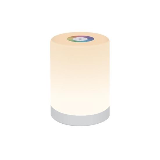 Lampka LED MAGIC MINI RGB biała nocna