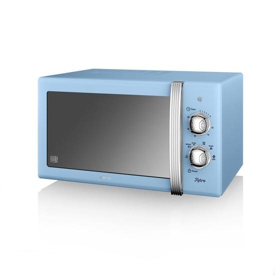 KUCHENKA MIKROFALOWA Manual Microwave BLUE