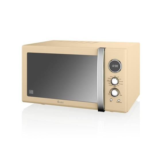 KUCHENKA MIKROFALOWA Manual Microwave CREAM