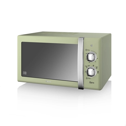 KUCHENKA MIKROFALOWA Manual Microwave GREEN
