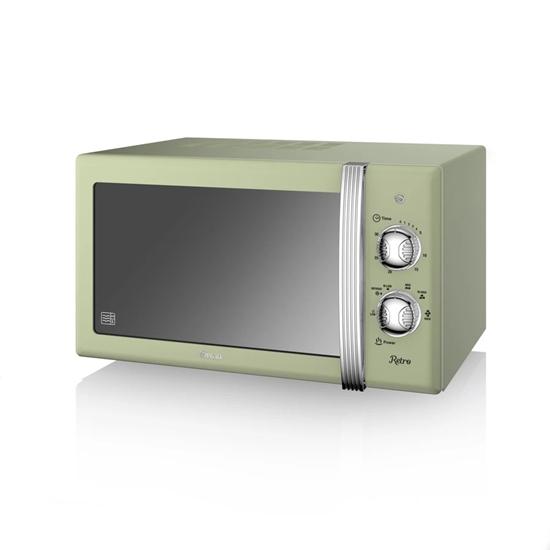 KUCHENKA MIKROFALOWA Manual Microwave GREEN