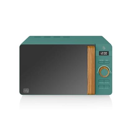 KUCHENKA MIKROFALOWA Nordic Digital Microwave GREEN