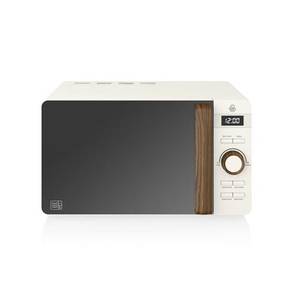KUCHENKA MIKROFALOWANordic Digital Microwave WHITE