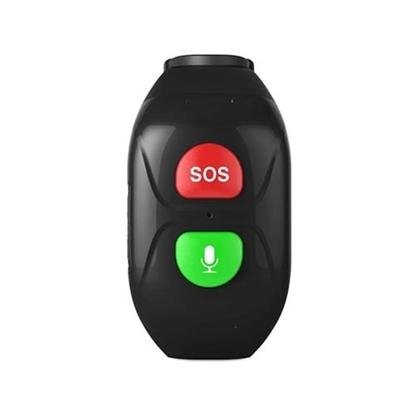 Locon Opaska GPS dla seniora S.O.S Bezpieczna Rodzina BS.02 Czarna
