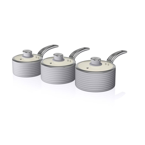ZESTAW 3 RONDLI Saucepan Set GREY