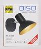 LAMPA ŚCIENNA KINKIET CANDELLUX DISO 91-63410  E27 CZARNY+ZLOTO