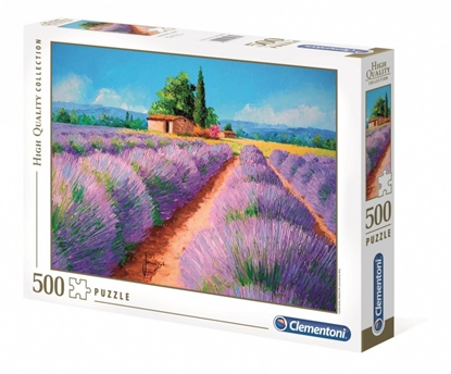 Puzzle 500 elementów HQ Zapach lawendy (GXP-726127)