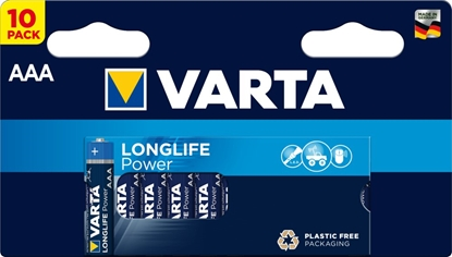 10 x Varta Longlife Power LR03/AAA 4903 (High Energy)