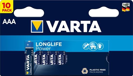 10 x Varta Longlife Power LR03/AAA 4903 (High Energy)