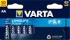 10 x Varta Longlife Power LR6/AA 4906 (High Energy)