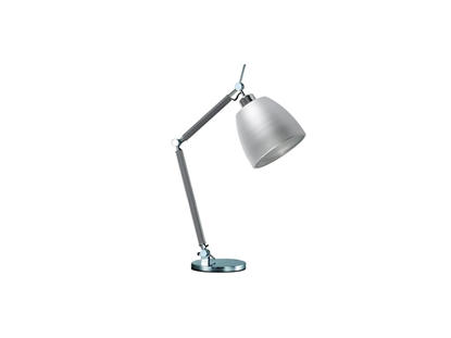 Aluminiowa lampka na biurko do salonu AZzardo ZYTA S