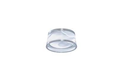 Akrylowa lampa przysufitowa LED do łazienki AZzardo Una 3000K (acryl)