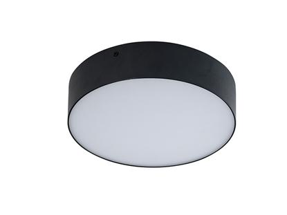Akrylowa lampa przysufitowa LED do salonu AZzardo MONZA R 22