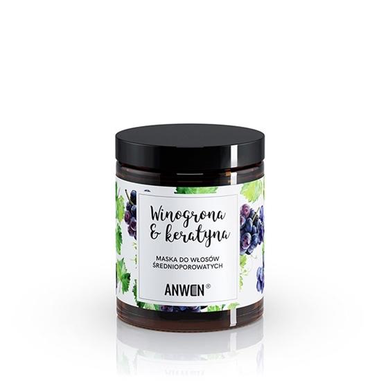 Anwen - Maska do włosów średnioporowatych