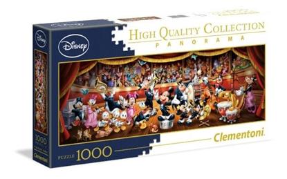 Clementoni Puzzle 1000el Panorama Disney Orkiestra 39445 p6, cena za 1szt. (39445 CLEMENTONI)