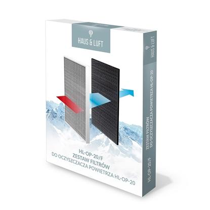 HAUS&LUFT Zestaw filtrów HL-OP-20/F