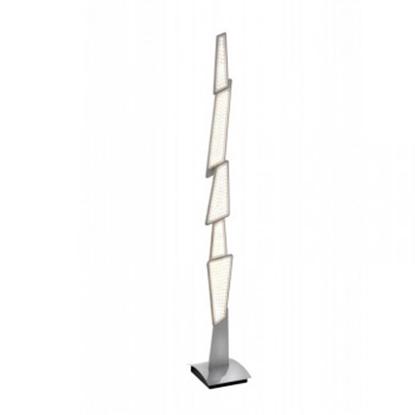 Akrylowa lampa podłogowa biała LED Sompex SPACY