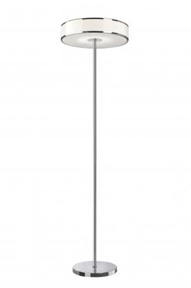 Akrylowa lampa stojąca biała ledowa Sompex LOUNGE LED