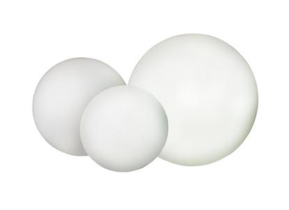 Biała ogrodowa kula LED Sompex KUGELLEUCHTE outdoor IP65 79656