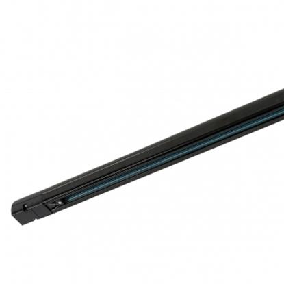 Czarna szyna 1-fazowa Italux 4 phase track - 1 m - black