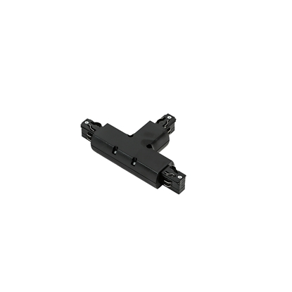 Czarna łącznik do szyny Italux 4 phase track - T joint - black